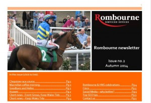 Rombourne autumn newsletter