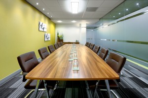 33 Cathedral Road boardroom