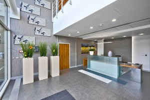 Kingston House serviced office - Reception area