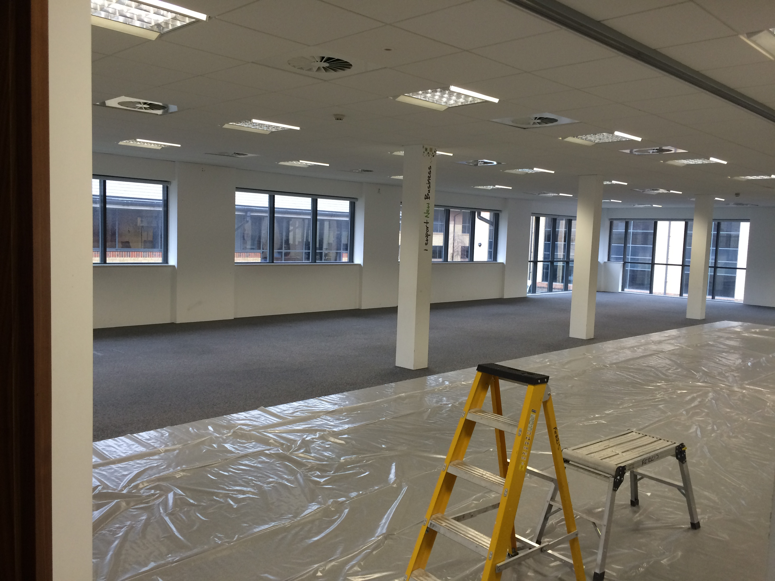 Excalibur house refit rombourne serviced offices for Office refit