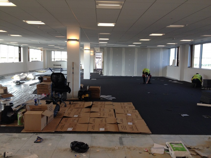 Kingston House refit  e