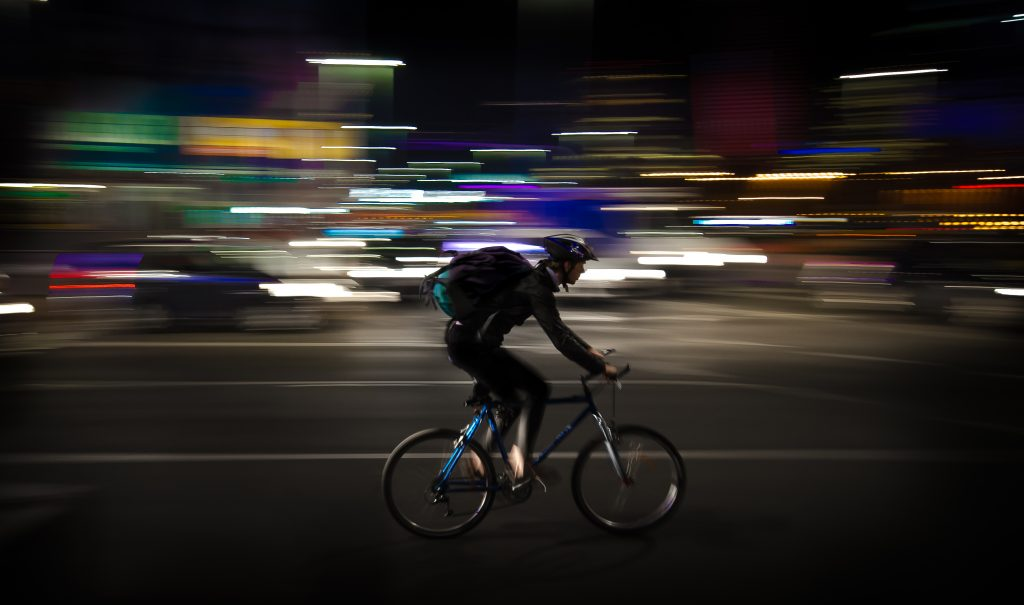 Cycle to work to save the planet