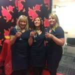 Christmas party time at Rombourne's Merlin House offices
