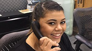 Aleisha, receptionist at our Aztec West serviced offices
