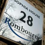 Sophia House entry sign