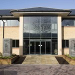 Merlin House serviced office in Newport, Wales