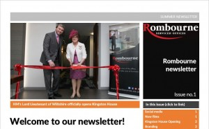 Rombourne summer newsletter