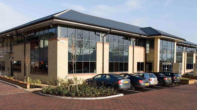 Merlin House serviced offices in Newport