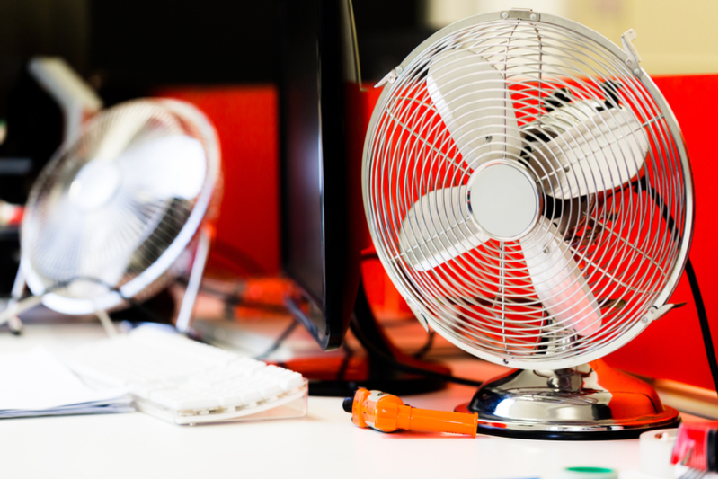 Keep employees cool during a heatwave