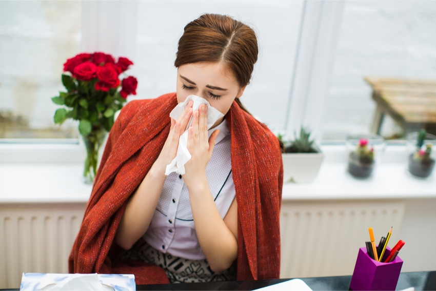 How to avoid colds and flu in the office