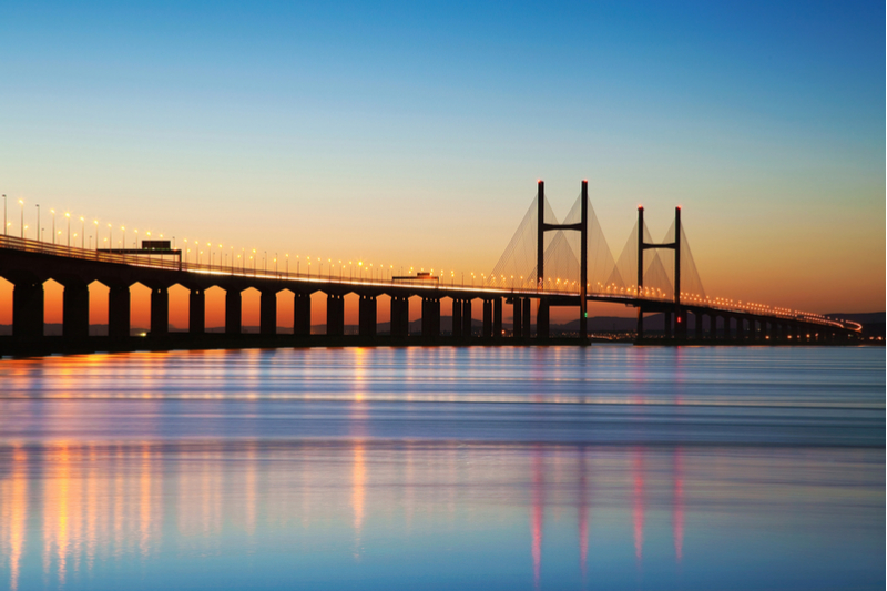 Severn Bridge Crossing, UK