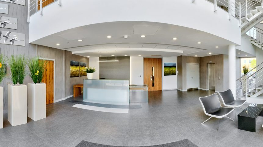 A reception area and service to impress