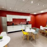 Kingston House Kitchen and breakout area
